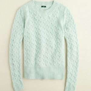 J. Crew Honeycomb Cable Sweater L/XL